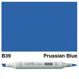 COPIC CIAO MARKER B39 PRUSSIAN BLUE