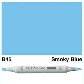 COPIC CIAO MARKER B45 SMOKY BLUE