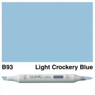 COPIC CIAO MARKER B93 LIGHT CROCKERY BLUE