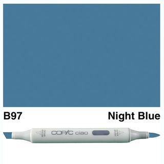COPIC CIAO MARKER B97 NIGHT BLUE