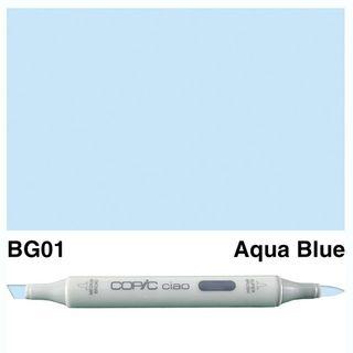 COPIC CIAO MARKER BG01 AQUA BLUE
