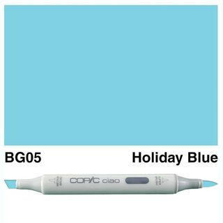COPIC CIAO MARKER BG05 HOLIDAY BLUE