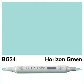 COPIC CIAO MARKER BG34 HORIZON GREEN