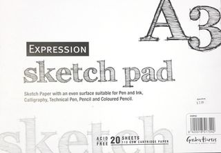 EXPRESSION SKETCH PAD A3 20LF 110GSM