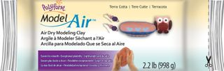 POLYFORM MODEL AIR DRY CLAY 1KG TERRACOT