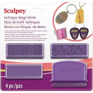 SCULPEY TECHNIQUE DESIGN BLOCKS TOOL