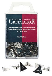 CRETACOLOR DRAWING PIN DELTA BOX 100