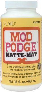 MOD PODGE MATT 16OZ