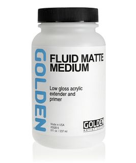 GOLDEN FLUID MATTE MEDIUM 236ML