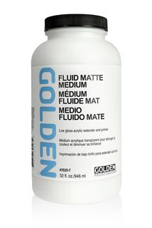 GOLDEN FLUID MATTE MEDIUM 946ML