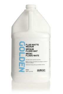 GOLDEN FLUID MATTE MEDIUM 3.78L