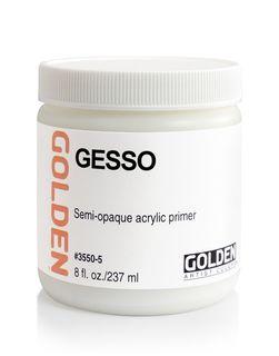 GOLDEN WHITE GESSO 236ML