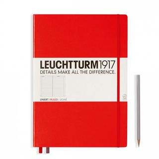 LEUCHTTURM1917 NOTEBOOK LARGE LINED RED