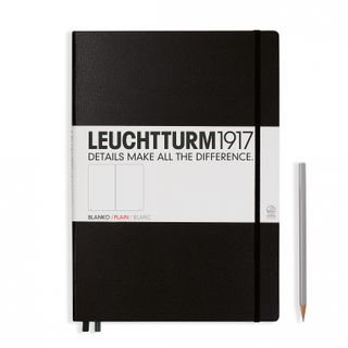 LEUCHTTURM1917 NOTEBOOK LARGE PLAIN BLK