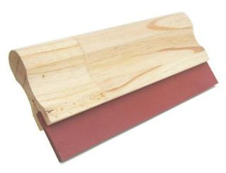 SQUEEGEE RED RUBBER 200MM