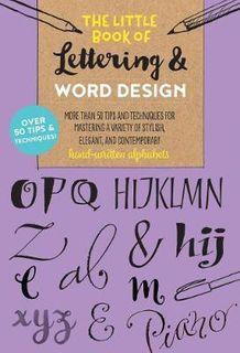 LITTLE BOOK LETTERING DESIGN 50 TIPS