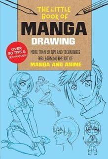 LITTLE BOOK OF MANGA DRAWING 50 TIPS