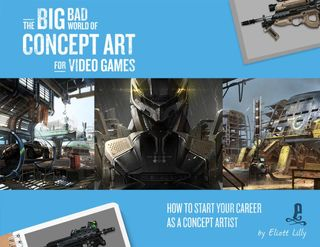 BIG BAD WORLD OF CONCEPT ART FOR VIDEO GAMES