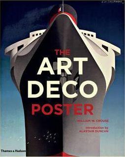 ART DECO POSTER BOOK P/B