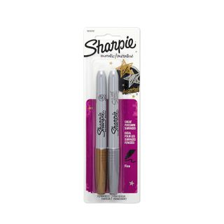 SHARPIE MARKER METALLIC ASSORTED 2 PK