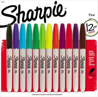 SHARPIE FINE ASSORTED 12 PACK