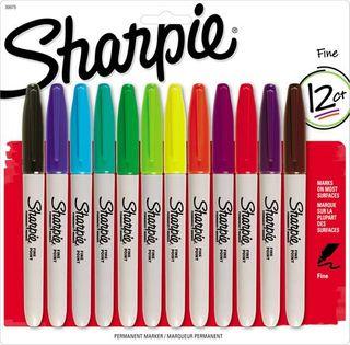 SHARPIE FINE ASSORTED 12 PACK