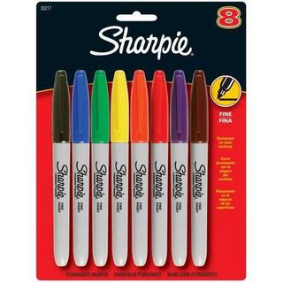 SHARPIE FINE ASSORTED 8 PACK