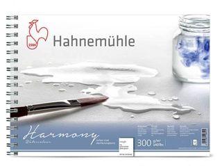 HAHN HARMONY WATERCOLOUR 300G RGH SPIRAL PAD A4
