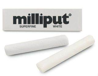 MILLIPUT EPOXY PUTTY 113.4GM SUPERFINE WHITE