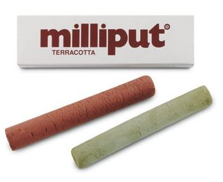 MILLIPUT EPOXY PUTTY 113.4GM TERRACOTTA
