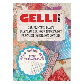 "GELLI PRINTING PLATE 9""X12"" (22.8X30.4CM)"