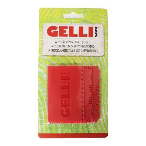 GELLI MINI PRINTING TOOLS SET 3