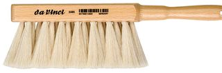 DA VINCI DUSTING BRUSH GOAT HAIR