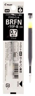 PILOT MR BALLPOINT BRFN-10M REFILL MEDIUM BLACK
