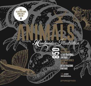ANIMALS:1000 HANDMADE ILLUSTRATIONS
