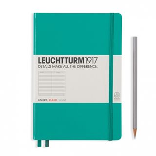 LEUCHTTURM1917 NOTEBOOK MED LIN EMERALD