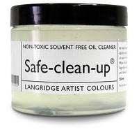 LANGRIDGE SAFE CLEAN UP HAND & BRUSH CLEANER 250ML