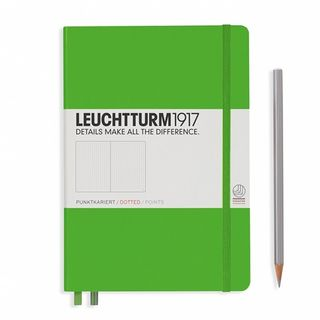 LEUCHTTURM1917 NOTEBOOK MED DOTTED FRESH GRN