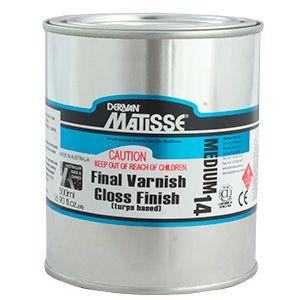MATISSE MM14 FINAL VARNISH GLOSS FINISH T/B 500ML