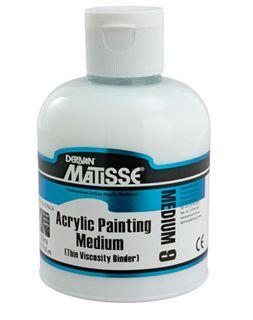 MATISSE MM9 ACRYLIC PAINTING MEDIUM 250ML