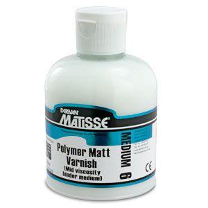 MATISSE MM6 POLYMER MATT VARNISH 250ML