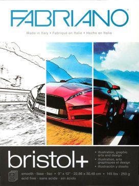 FABRIANO BRISTOL PAD 250G A4 20 SHEETS