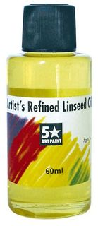 FIVE STAR REFINED LINSEED OIL 60ML