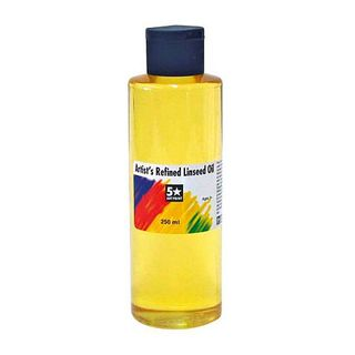 FIVE STAR REFINED LINSEED OIL 250ML