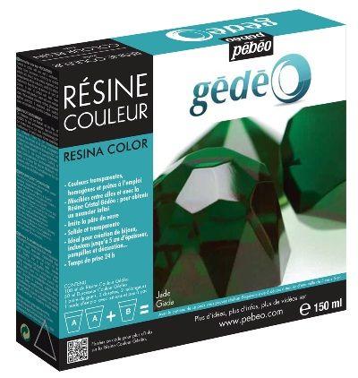 GEDEO COLOUR RESIN 150ML JADE