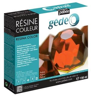 GEDEO COLOUR RESIN 150ML AMBER