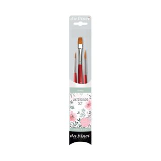 DA VINCI WATERCOLOUR BRUSH SET 3
