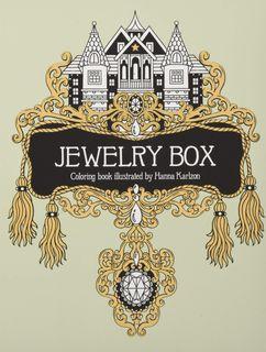 JEWELRY BOX COLOURING BOOK