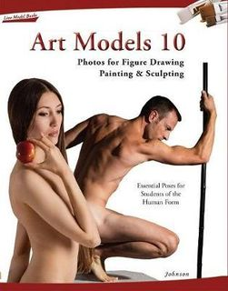 ART MODELS 10 : FIGURE DRAWING PAINTING