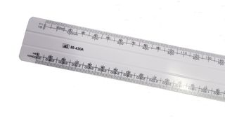 ARCHITECTURAL SCALE RULE OVAL 300MM